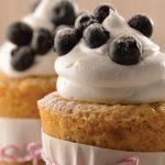 Cupcakes de blueberry
