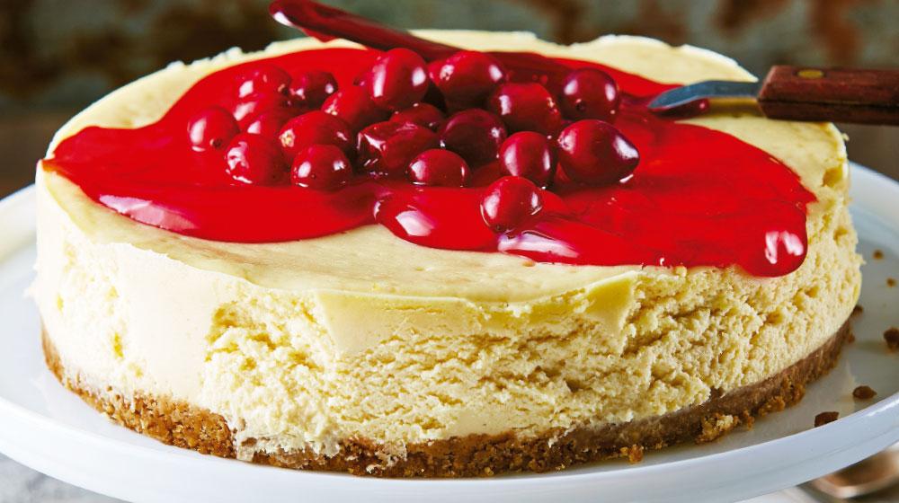 cheesecake-con-mermelada-de-arandano