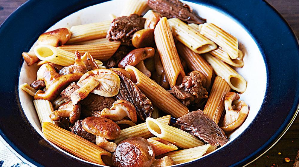 pasta-penne-con-hongos100x560