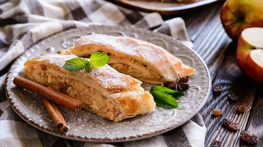strudel-de-manzana