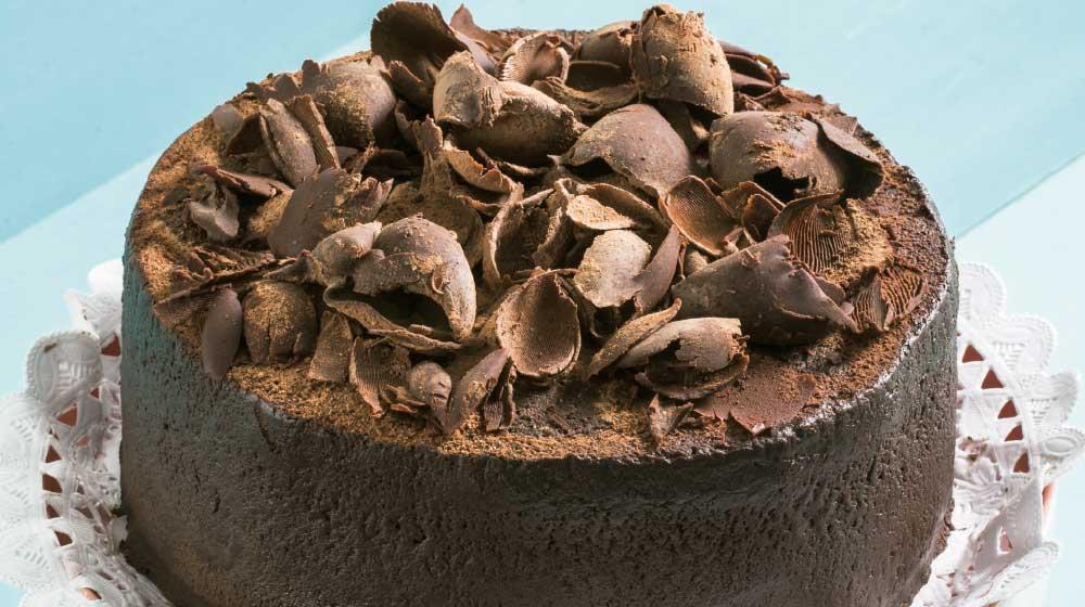 Receta de pastel de cuatro chocolates