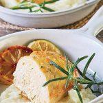 Pollo al romero y limón
