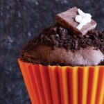 muffin de chocolate para halloween