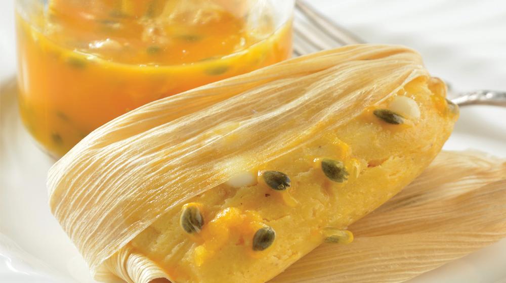 Tamales de maracuyá