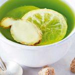 te-verde-con-jengibre-y-limon