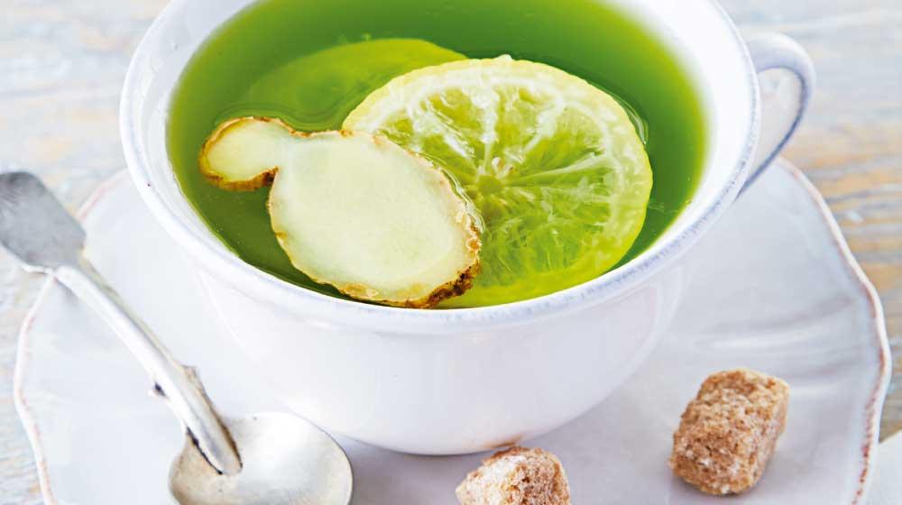 Te verde con limon adelgazar