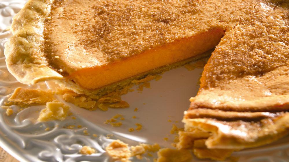 pay de queso y calabaza