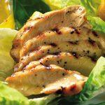 Ensalada caribeña de pollo con mango