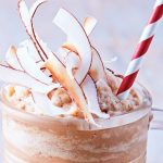 smoothie de coco con chocolate