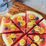 pizza de sandia