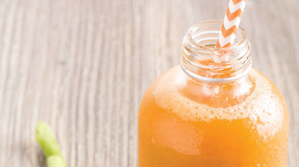 jugo de zanahoria pera y brocoli