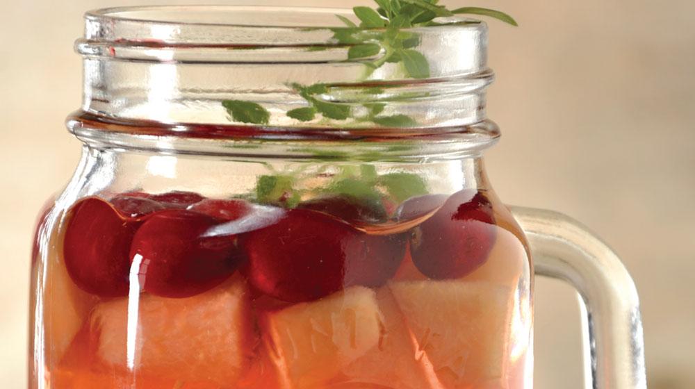 sangría de uva