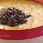 fondue de queso con huitlacoche