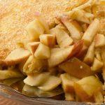 Pay de manzana tradicional