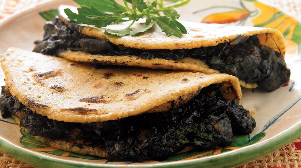 Quesadillas De Huitlacoche Cocina Fácil