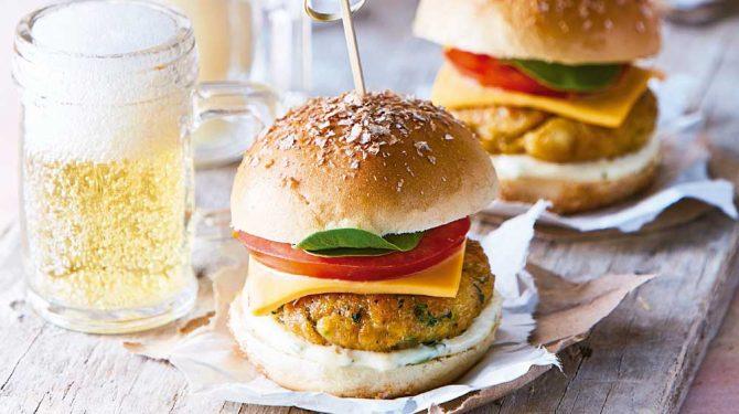 Hamburguesa- comida favorita de los jugadores del mundial