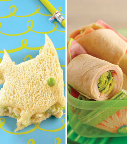 5 lunches saludables para la escuela