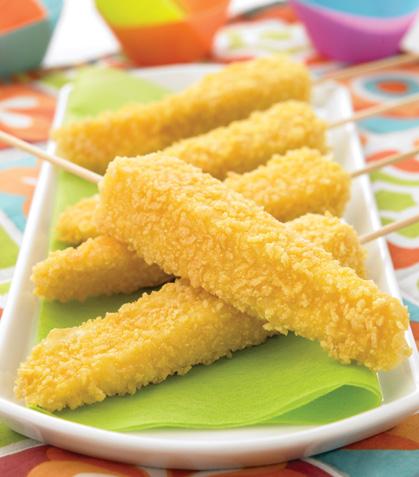 Banderillas de queso