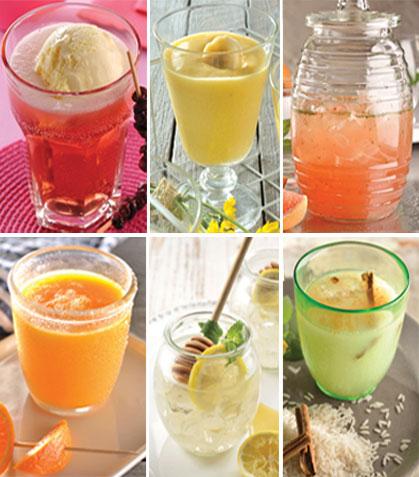 12 Bebidas refrescantes para niños