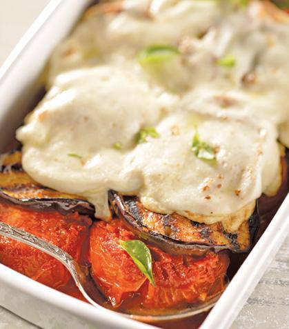 Berenjena vegetariana estilo Italia