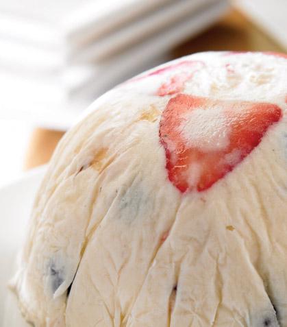 Bomba de helado de yogur