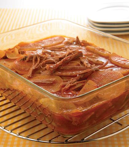 Cacerola de carne con papas