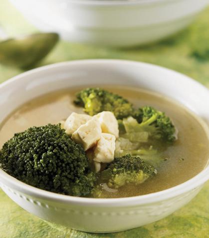 Caldo de brócoli