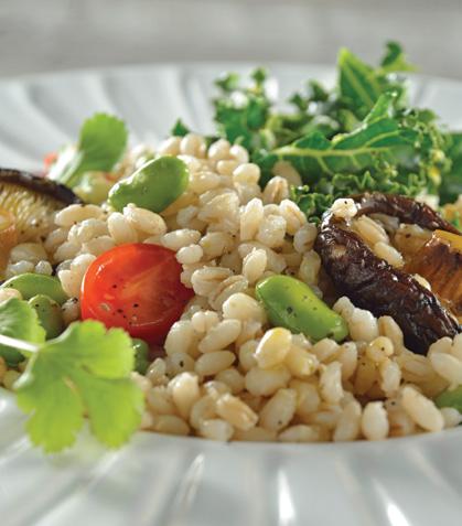 Cebada perla con verduras