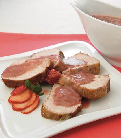 Cerdo en salsa rosa