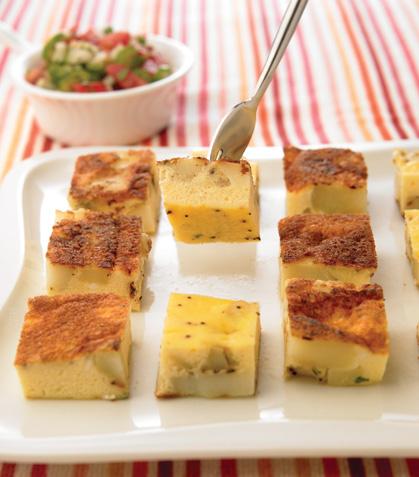 Cubitos de tortilla española