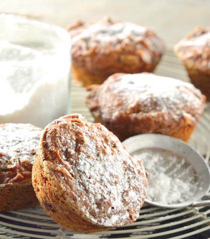 Cupcakes de camote y chía