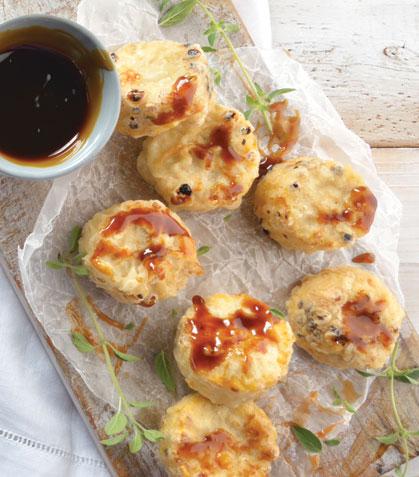 Elote tempura