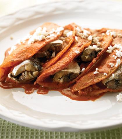 Enchiladas de sardina