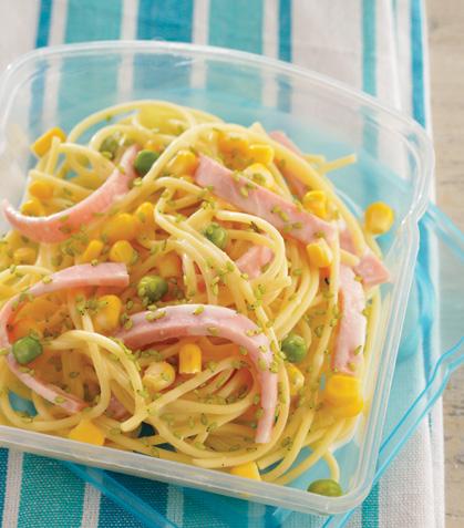 Ensalada de espagueti