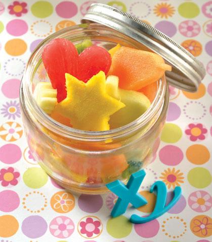Ensalada de frutas divertidas
