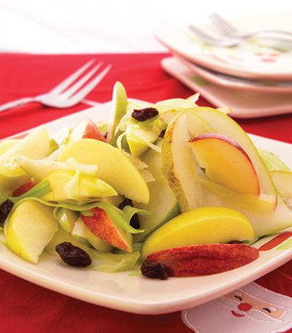 Ensalada de manzana y pera