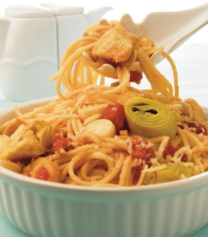 Espagueti horneado