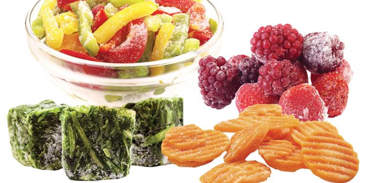 Alimentos que es mejor consumir congelados