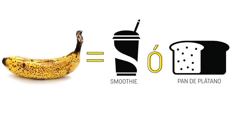 Qué hacer con los plátanos maduros