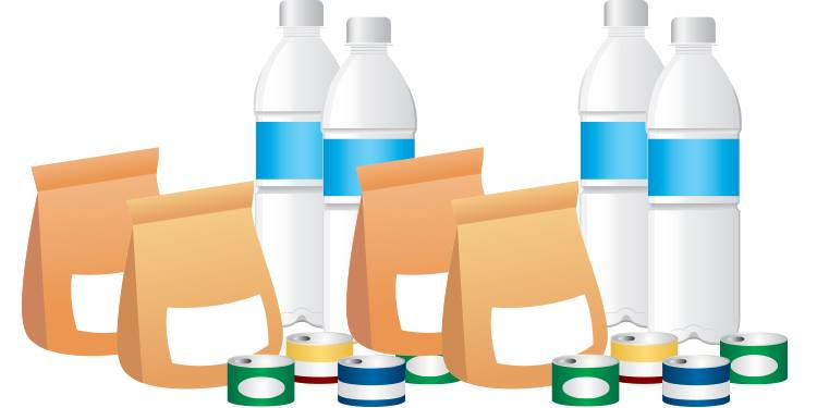Kit de emergencia en caso de huracán