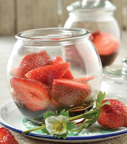Fresas con balsámico