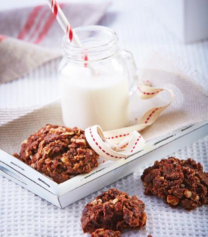 Galletas integrales de cacao