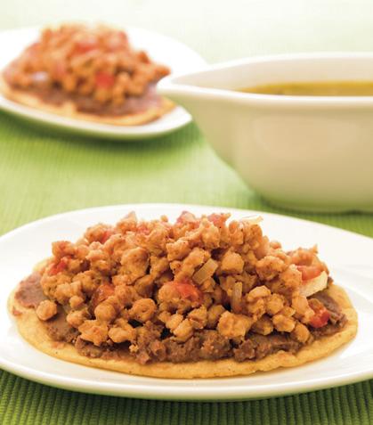 Huarache de soya