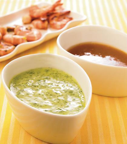 Marinada de epazote con cilantro