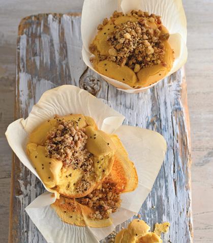 Muffins con chía y manzana