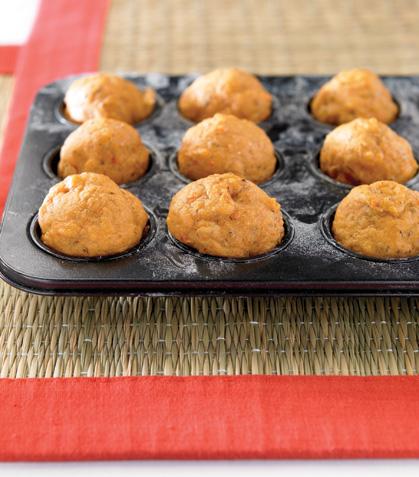 Muffins de sardina