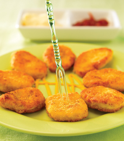 Nuggets de pollo aromáticos