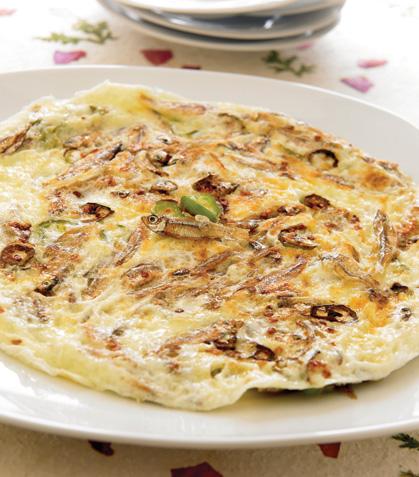 Omelette de charales
