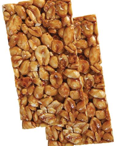 Palanquetas de cacahuate