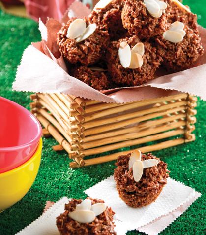 Panquecitos de chocolate y coco